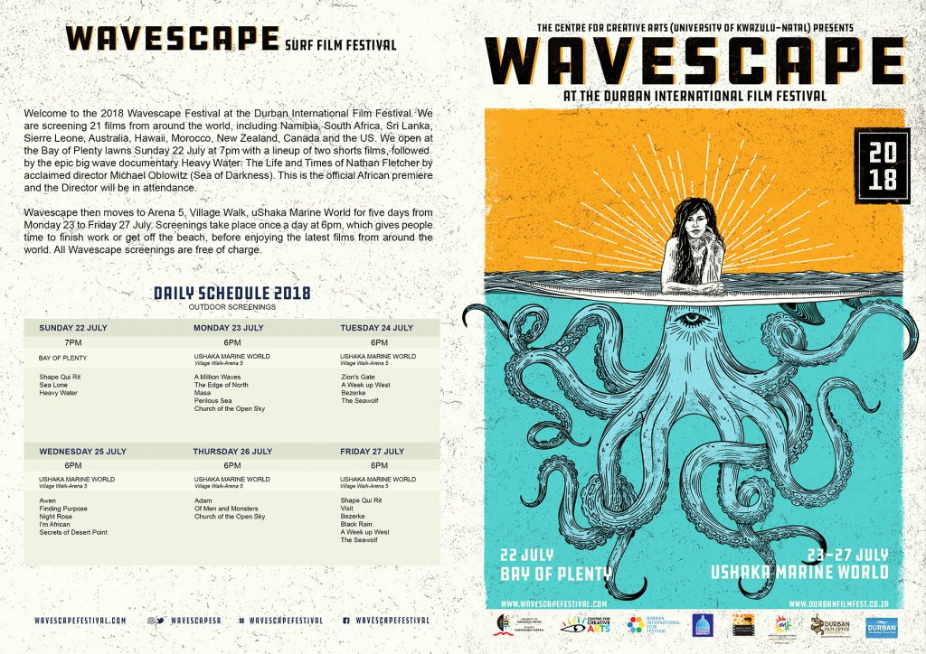 Schedule   Wavescape Surf and Ocean Festival